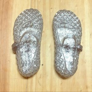 Other - Old Navy Jelly Sandals for Toddler Girl in Silver